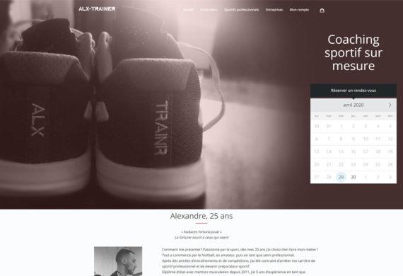 Site e-commerce avec prise de rendez-vous